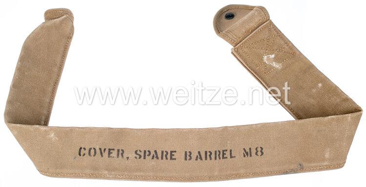 2. Weltkrieg USA Transporttasche für den Maschinengewehrlauf