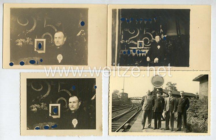 III. Reich Fotogruppe, 25. Jähriges Dienstjubiläum eines Bahnmitarbeiters