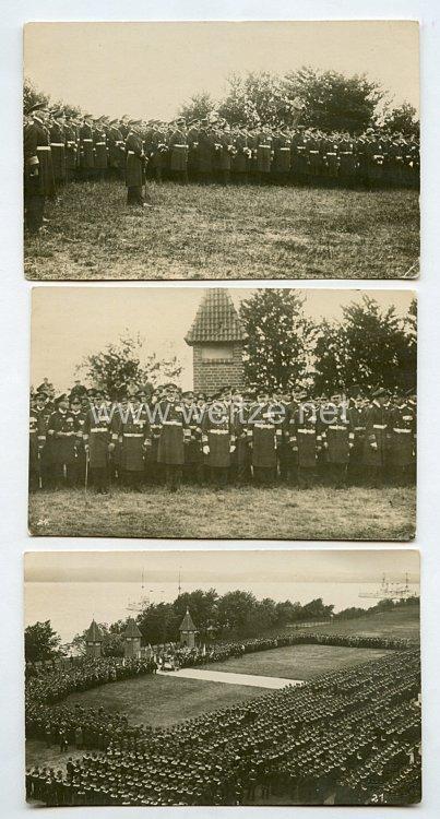 Weimarer Republik Fotos, Gedenkfeier der Reichsmarine in Mürwik 1926