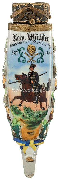 Braunschweig Reservistenpfeife des Husaren Wächter im Husaren-Regiment Nr. 17, 1. Eskadron