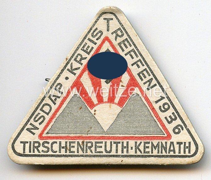 NSDAP - Kreistreffen 1936 Tirschenreuth-Kemnath