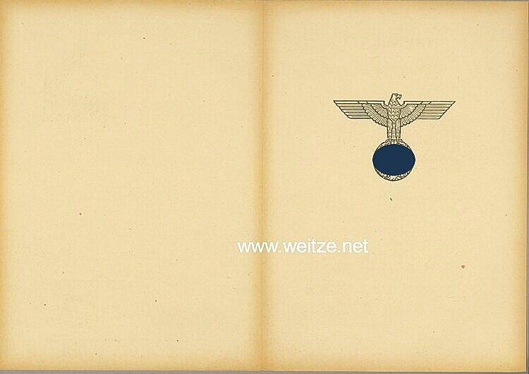 Ehrenblatt des deutschen Heeres - Ausgabe vom 25. Januar 1944