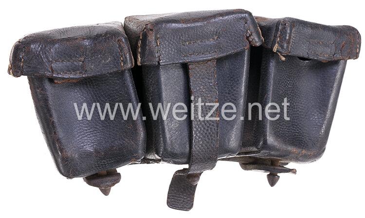 1. Weltkrieg Patronentasche für das Gewehr 98