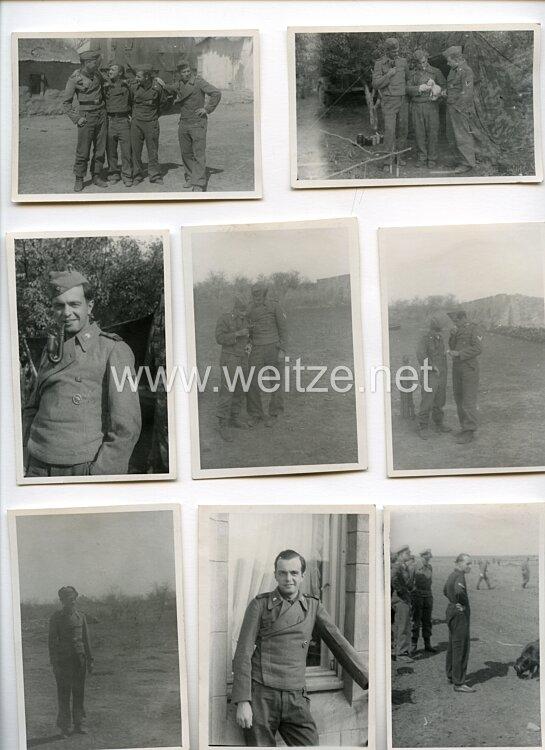 Wehrmacht Foto, Angehöriger einer Sturmgeschützabteilung in Russland