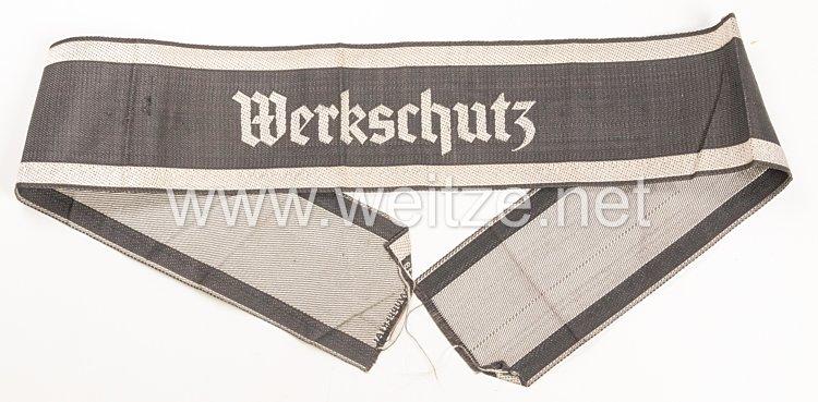 III. Reich Werkschutz Ärmelband