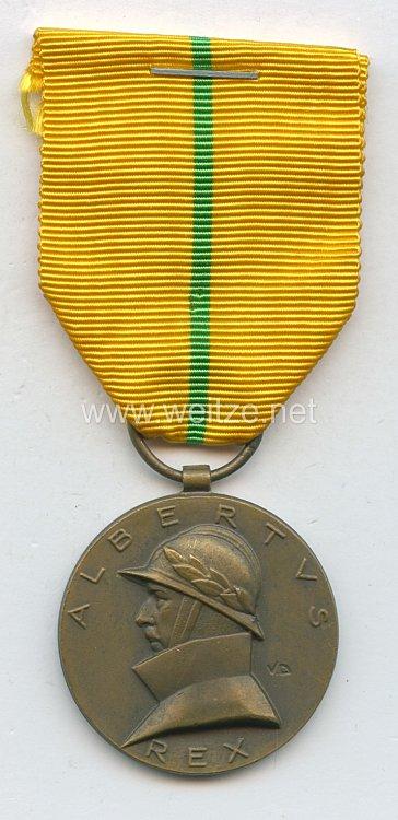 Belgien - Albertus Rex Medaille 1909-1934