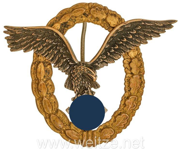 Gemeinsames Flugzeugführer-u. Beobachterabzeichen - Assmann