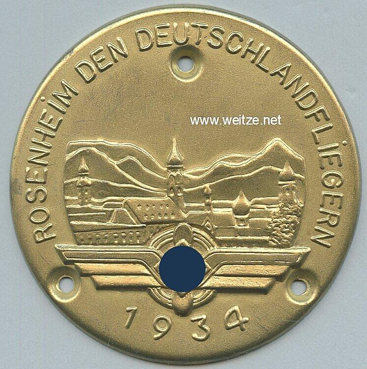 III. Reich / DLV - Türplakette