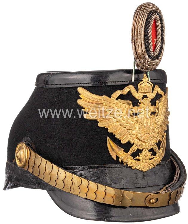 Kaiserliches Seebataillon Tschako für Offiziere