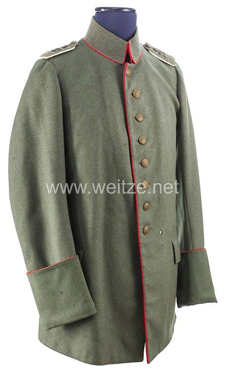 1. Weltkrieg Anhalt Feldbluse Modell 1915 für einen Oberstleutnant imInfanterie-Regiment Nr. 93