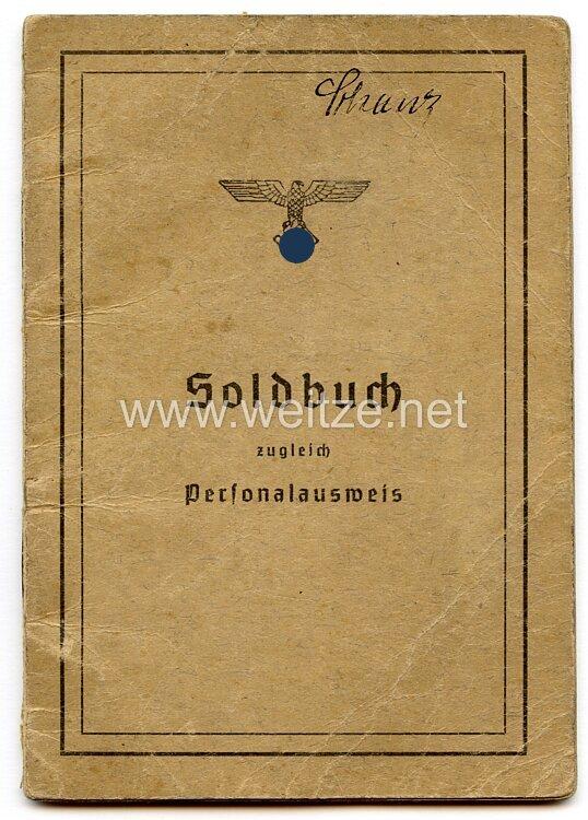 Technische Nothilfe ( TeNo ) - Soldbuch für einen T.N.Mann des Jahrgangs 1893