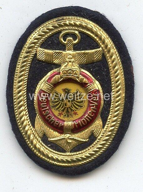 Kaiserlicher Deutscher Flottenverein, Abzeichen für die Schirmmütze