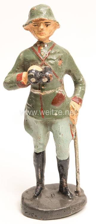 Elastolin - Heer Offizier stehend mit Fernglas