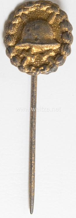 Verwundetenabzeichen in Gold 1918 - Miniatur 17 mm