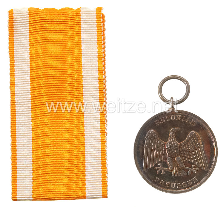 Preussen Freistaat Rettungsmedaille 1925-1933