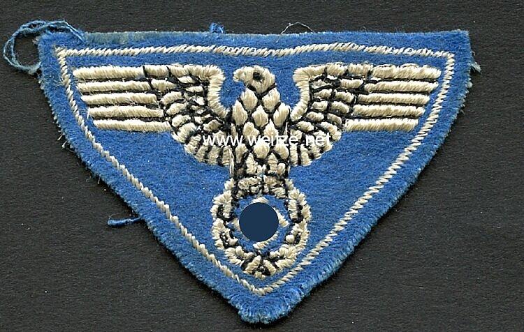 III. Reich Postsport gestickter Hoheitsadler