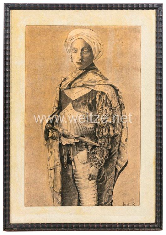 Frankreich Bildnis eines Mamelucken-Kriegers