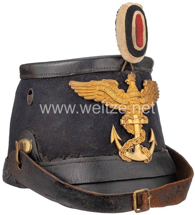 Preußisches Seebataillon Tschako für Mannschaften - Erstes Modell