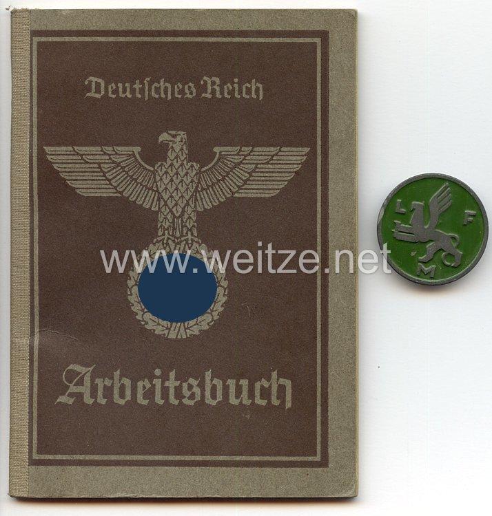 Werksabzeichen für Zivilangestellte der Luftfahrtforschungsanstalt München ( LFM )