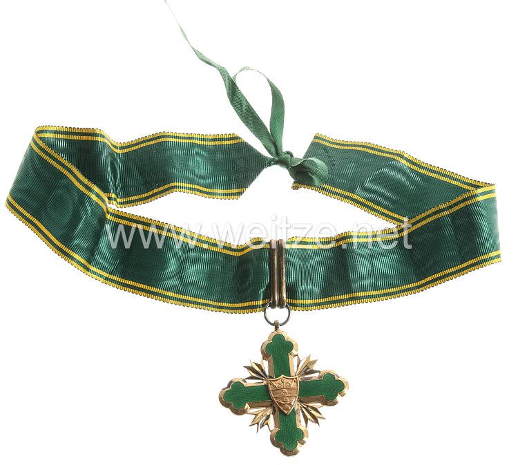 Kolumbien Orden de San Carlos, Kommandeurkreuz