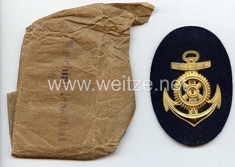 Reichsmarine - Kriegsmarine Ärmelabzeichen für einen Maschinenmaaten