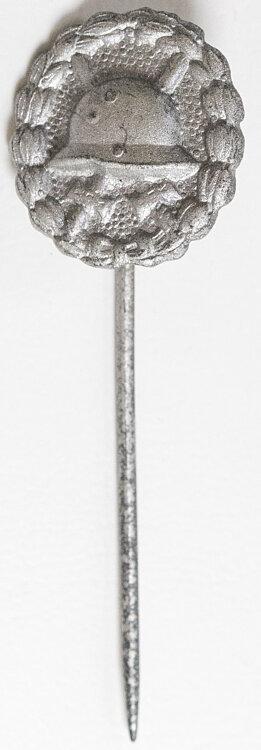 Verwundetenabzeichen in Silber 1918 - Miniatur 17 mm