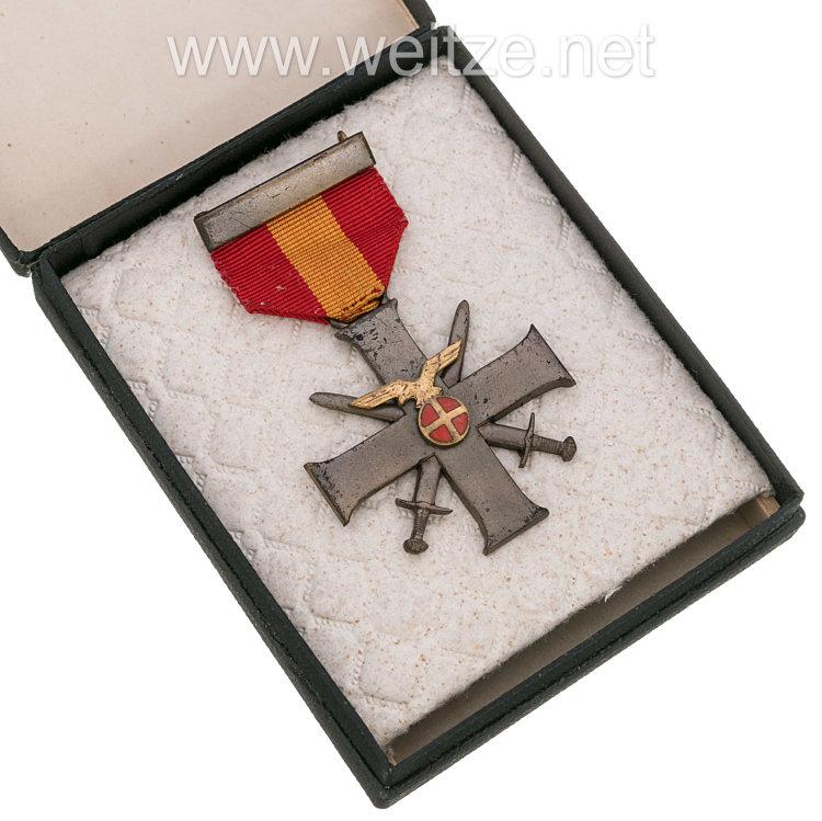 "Norwegen Tapferkeitskreuz ""Tapper og Tro"", 1941. Kreuz 2. Klasse"