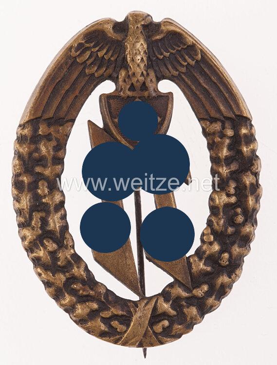 Erinnerungsabzeichen in Bronze der Einsatzstaffel der DM in Kroatien