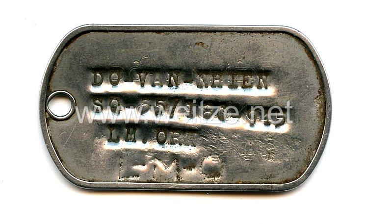 Republik Vietnam 1955 - 1975: ARVN Erkennungsmarke