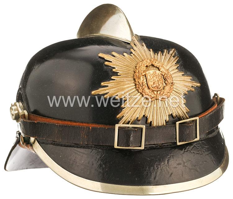 III.Reich Thüringen Feuerwehr Helm für Mannschaften