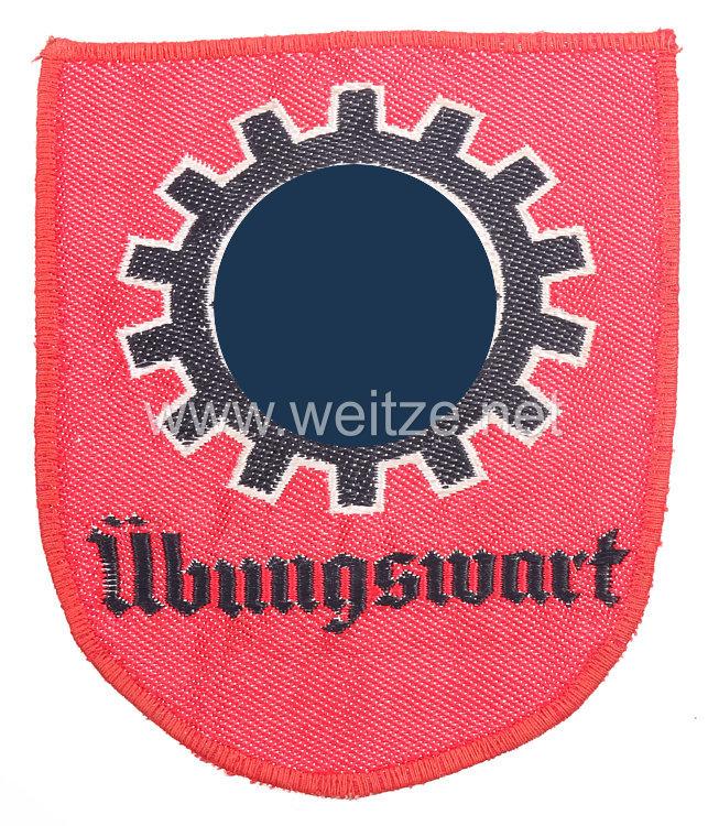 """DAF- Deutsche Arbeitsfront Abzeichen """"Übungswart"""""""