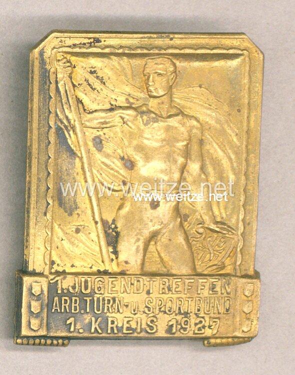 Sozialismus - 1. Jugendtreffen Arbeiter Turn-u. Sportbund 1. Kreis 1927