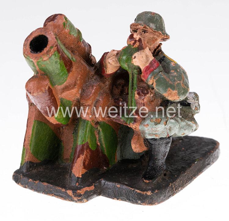 Elastolin - Heer Minenwerfergruppe im Tarnanstrich