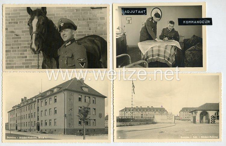 III.Reich Polizei Fotogruppe, Angehöriger der SS-Polizeidivision in der Blücherkaserne in Bunzlau