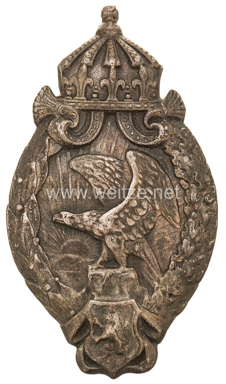 Bulgarien 1. Weltkrieg Abzeichen für Flugzeugbeobachter