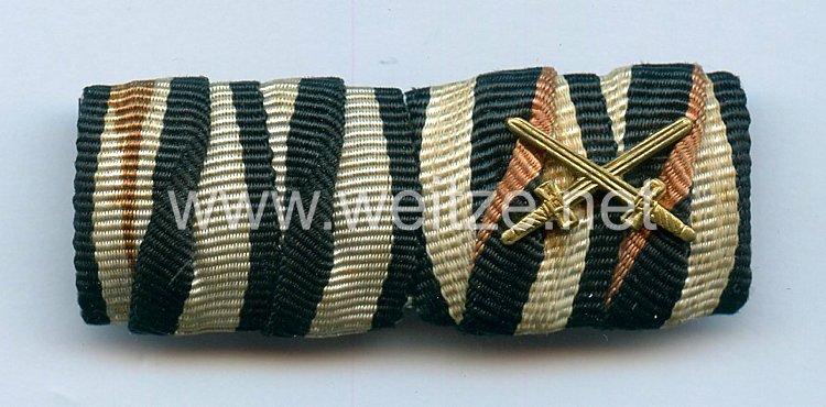 III. Reich Bandspange eines Veteranen des 1. Weltkriegs