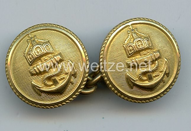 Kaiserliche Marine Knopfkette für die Paradejacke der Offiziere