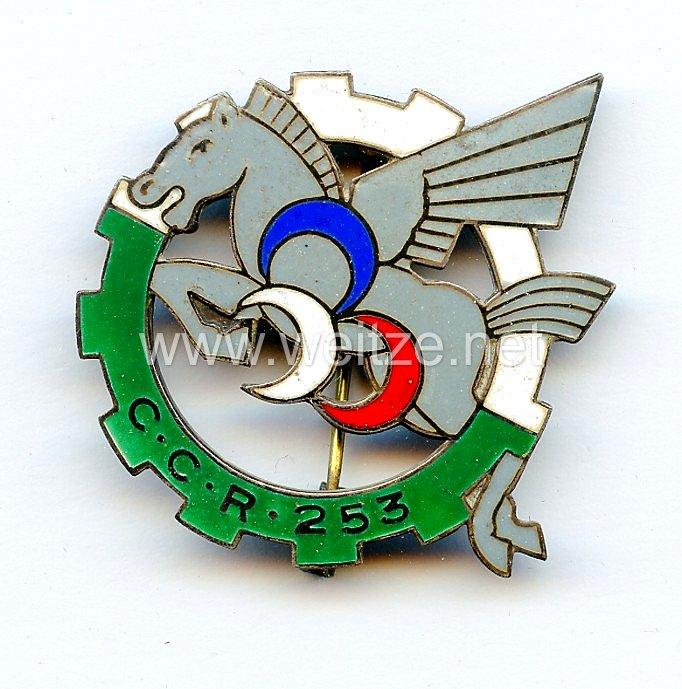 Frankreich 2.Weltkrieg Abzeichenin Silber für Offiziere der