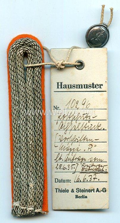 Postschutz Einzel Schulterstück für einen Postschutz-Zug-Abteilungsführer