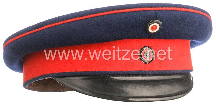 Württemberg Schirmmütze für einen Unteroffizier der Infanterie