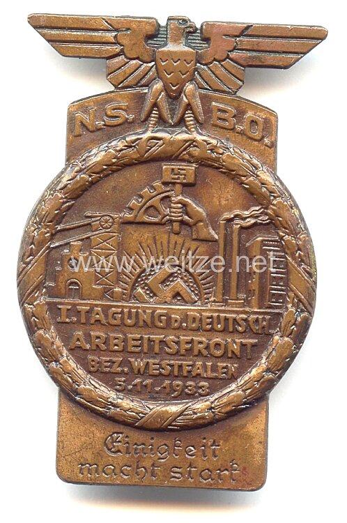 NSBO - 1. Tagung der Deutschen Arbeitsfront Bez. Westfalen 5.11.1933