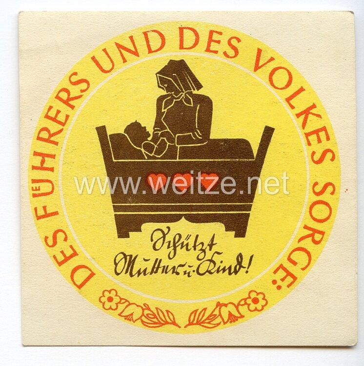 WHW - 2. Winterhilfswerk des Deutschen Volkes 1934/35 - Türplakette für Februar 1935