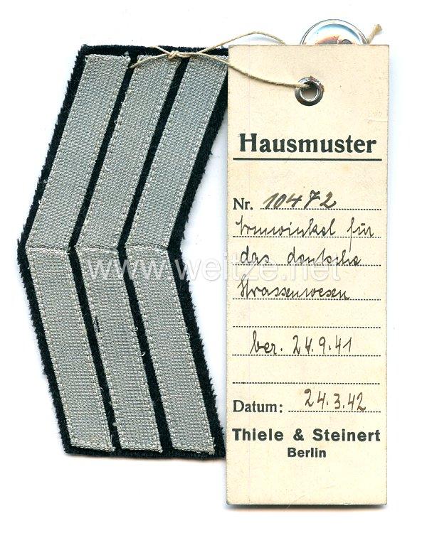 III. Reich Armwinkel für das deutsche Straßenwesen