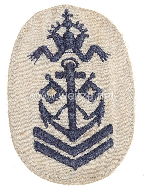 Kaiserliche Marine Ärmelabzeichen für eine Kinderuniform Obersignalmaat