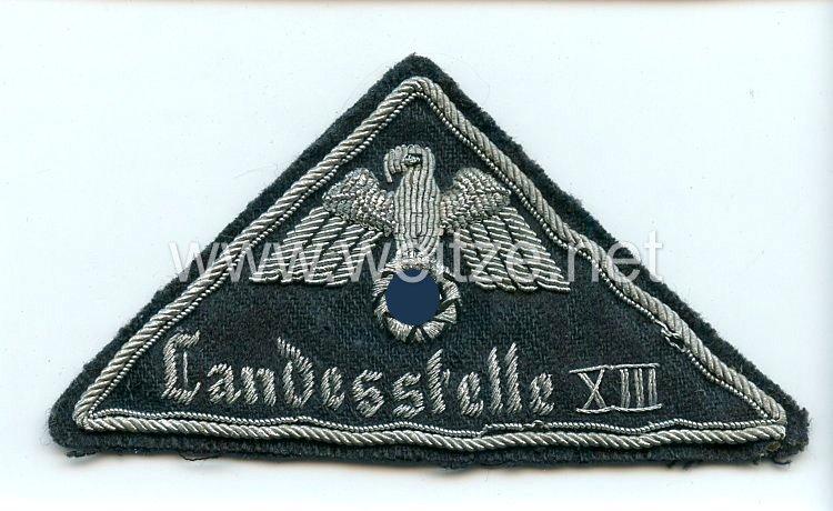 Deutsches Rotes Kreuz (DRK) Ärmeladler für Führer - Landesstelle XIII