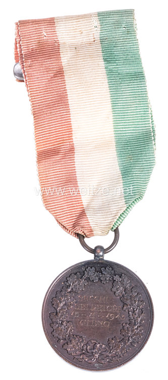 Republik Italien 2. Weltkrieg: bronzene Verdienstmedaille