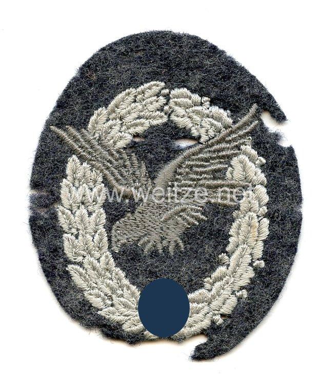 Luftwaffe Fliegerschützenabzeichen ohne Blitzbündel