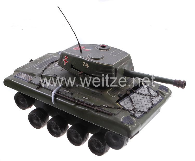 Blechspielzeug - Puma Tank No.74 Frankreich ( Panzer ) 50er Jahre