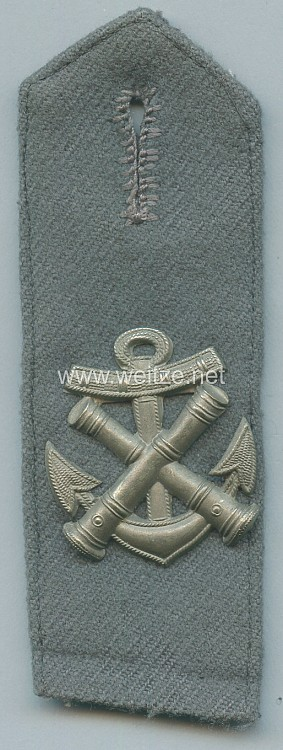 1. Weltkrieg Marine-Infanterie Flandernkorps Einzel Schulterkappe für einen Feuerwerker