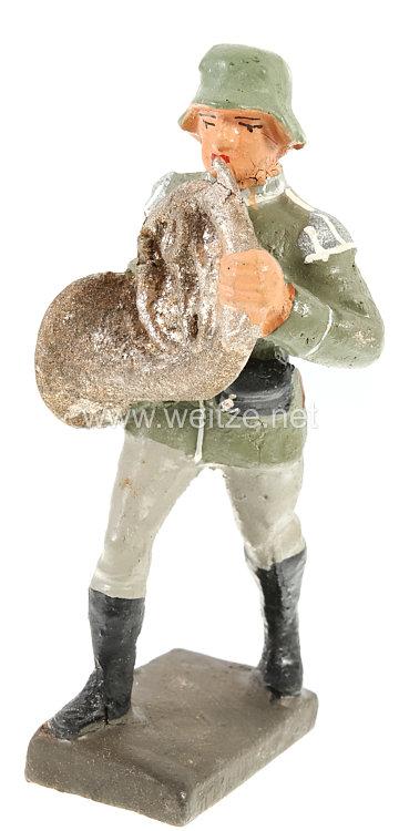Lineol - Heer Waldhornbläser marschierend